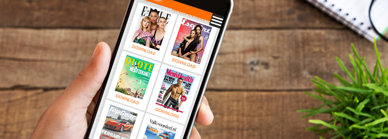 Read your favourite magazine now, for free