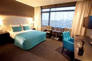 Double bed kamer - Hotel Almere