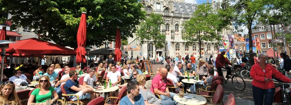 Enjoy your stay on a terrace - Hotel Middelburg