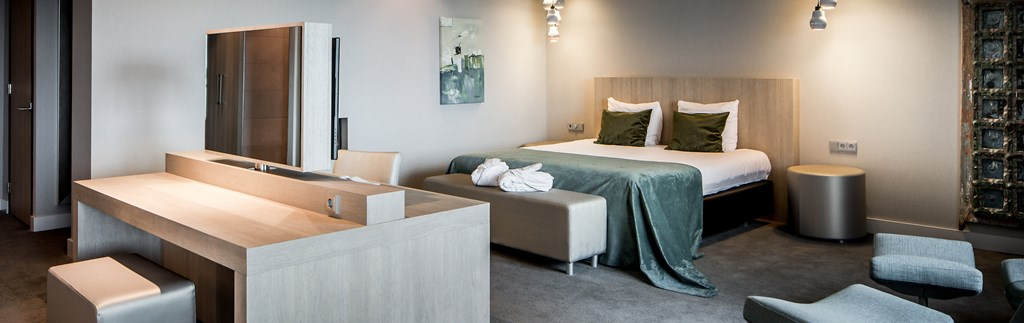 The Skyline suite in hotel Dordrecht