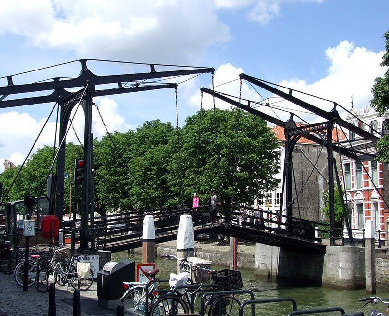 Cycling in the center of Dordrecht