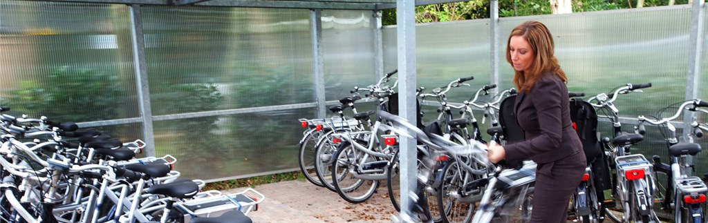 You can park your bicycle safely at our hotels