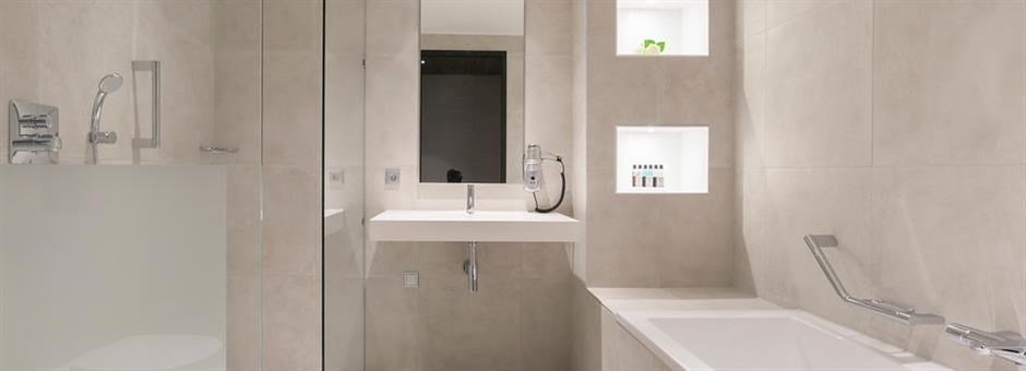 Luxurious bathrooms - Hotel Zwolle