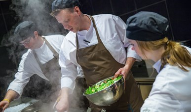 Live Cooking zondag