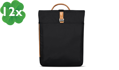 Senz° Sam Backpack Pure black