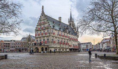 Town hall of Gouda