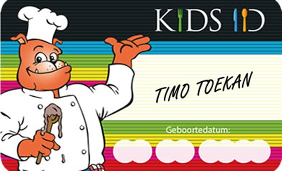 Kids ID Card