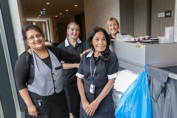 Meewerkend supervisor Housekeeping