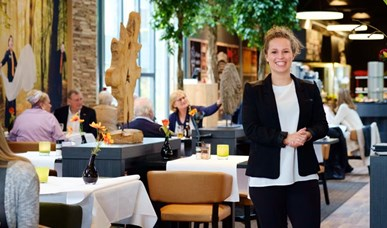 Restaurantmanager ontbijtdiensten
