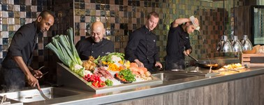 Hotel Utrecht - Live cooking package