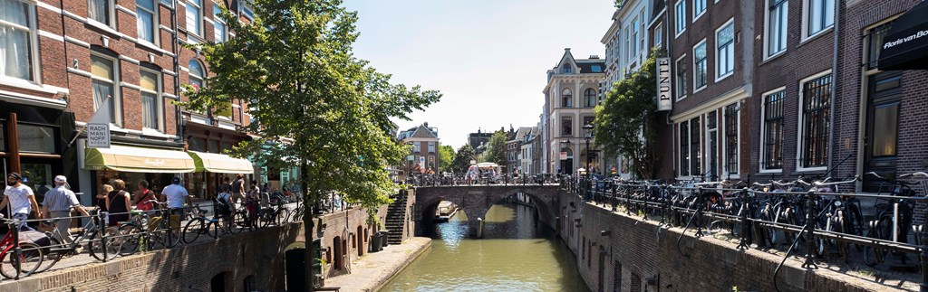 Stroll around historic Utrecht