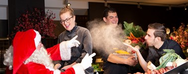 Hotel Utrecht - Christmas package with Live Cooking
