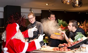 Kerst Live Cooking
