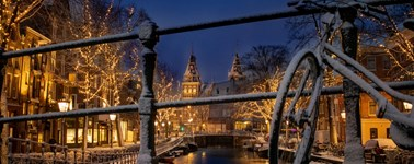 Festive season in Amsterdam