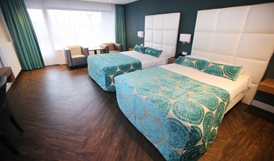 Luxury rooms (2 x queen-size bed)
